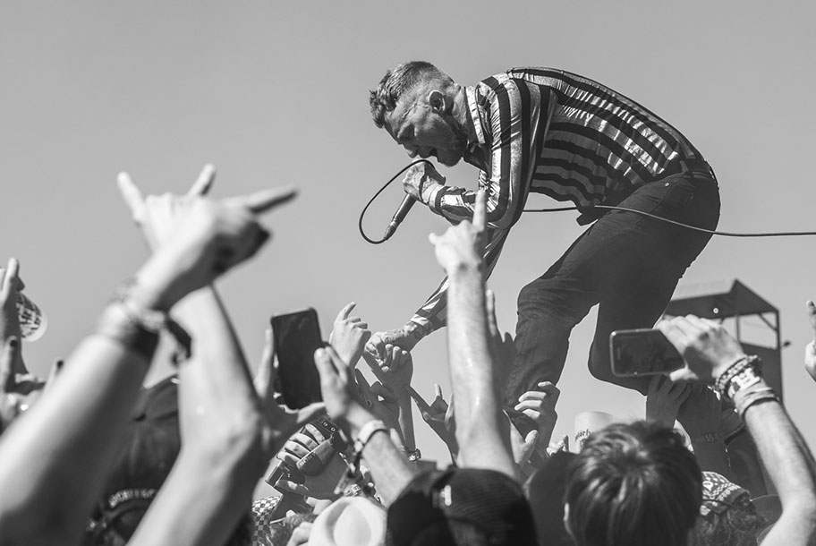 <H2>Frank Carter & The Rattlesnakes</H2><H5>Clisson, Hellfest